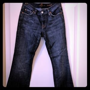 7 For All Mankind Petite Bootcut Jeans Size 27